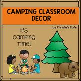 Camping Classroom Decor Set