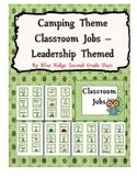 Camping Classroom Job Chart