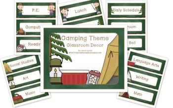 Camping Classroom Theme
