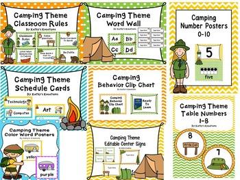 Camping Classroom Bundle