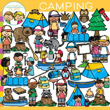 Camping Clip Art
