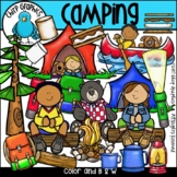 Camping Clip Art Set - Chirp Graphics