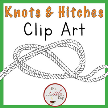 Camping Clip Art for Boy Scouts, Ropes, Hammocks or STEM Challenge