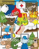 Camping Clipart Package