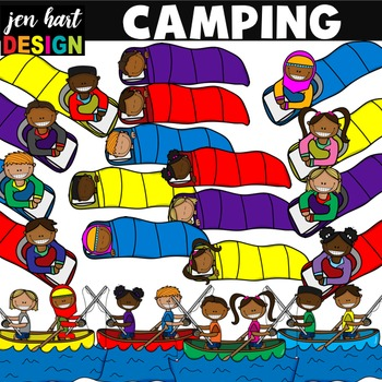 Camping Clipart Set