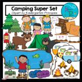Camping Clipart Super Set