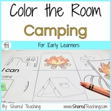 Camping Color the Room