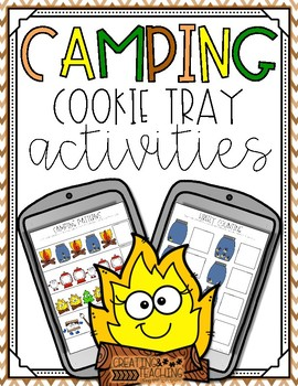 Camping Cookie Tray Activities