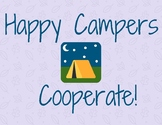 Camping Cooperation Bulletin Board Posters