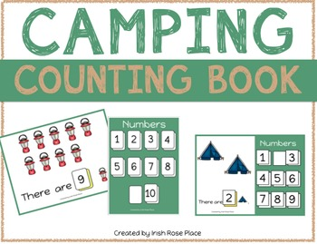 Camping Counting Books (Adapted Books)