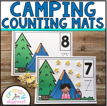 Camping Counting Mats 1 - 20