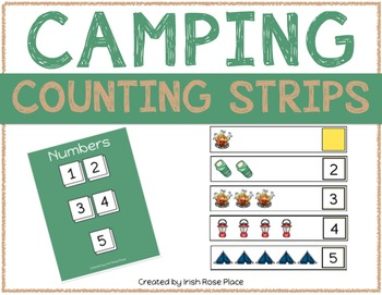 Camping Counting Strips