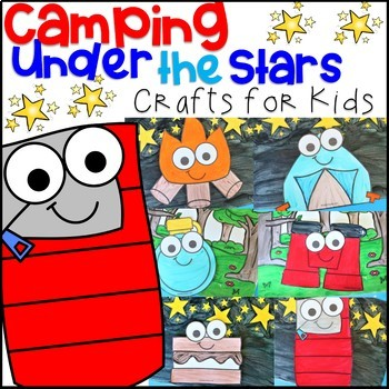 Camping Crafts Summer Crafts By The Brisky Girls Tpt