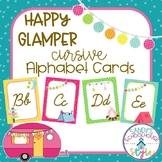 Camping Themed Classroom Printables: Cursive Alphabet Posters