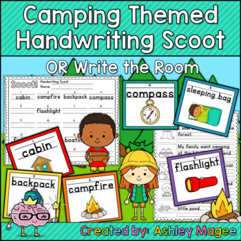 Camping Day Fun Bundle! - 8 Camping Themed Activities and more!