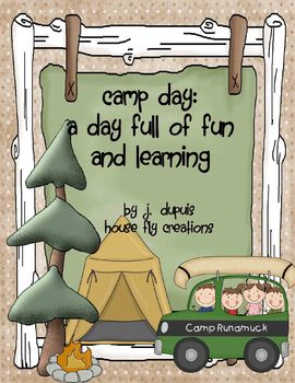 Camping Day - Learning Camp Style!