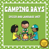 Camping Days: Speech and Language Unit