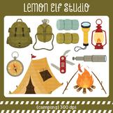 Camping-Digital Clipart (LES.CL68A)