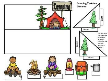 Camping Diorama