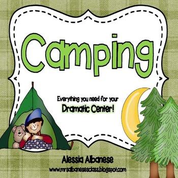 Camping Dramatic Play Center