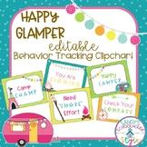Camping Classroom Theme Editable Behavior Clip Chart