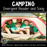 Summer Book: Camping ELA Book and Song