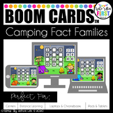 Camping Fact Families Boom Cards