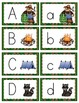Camping Fun Alphabet Cards and Writing Book