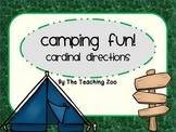 Camping Fun! Cardinal Directions Signs