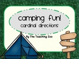 Camping Fun! Cardinal Directions Signs