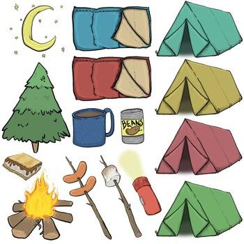 Camping Fun Clip Art
