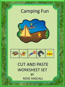 Camping Activities Summer Math & Literacy Thematic Unit Cu