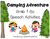 Camping Fun Grab & Go Packet! Speech and Language Activities