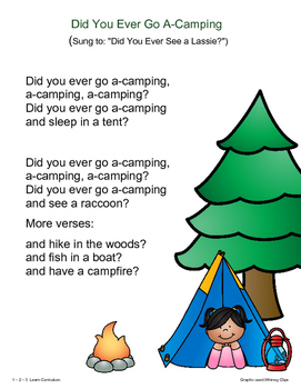 Camping Fun - Songs, Poems and Fingerplays