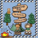 Camping Speech Therapy