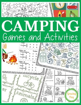 Camping Games and Activities - Camping Week, Camp Theme
