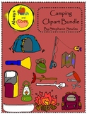 Camping Gear Clipart Bundle