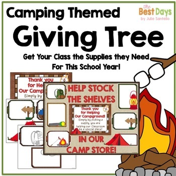 "Camping ""Giving Tree"" / Wish List Donations"