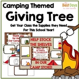 """Camping """"Giving Tree"""" / Wish List Donations"""