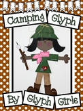 Camping Glyph