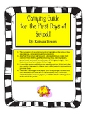 Camping Guide First Days Activity