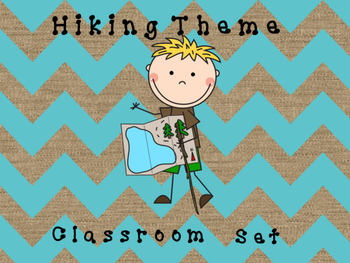 Camping/Hiking Classroom Set