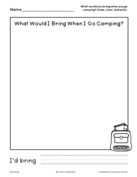 Camping | End of School | Summer School | Circle Time