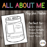 Bug Jar All About Me Poster - Dollar Deal