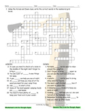 Camping Interactive Crossword Puzzle for Google Apps