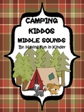 Camping Kiddos Middle Sounds - A Camping Themed Activity