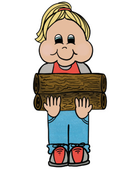 Camping Kids Clipart
