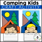 Tent Kids | Camping Craft Activity | Camping Theme Activities | Summer