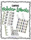 Camping Labels | Bring Back | Keep At Home | Blank Labels