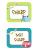 Camping Classroom Theme Editable Labels